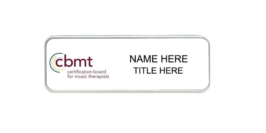 CBMT name badges