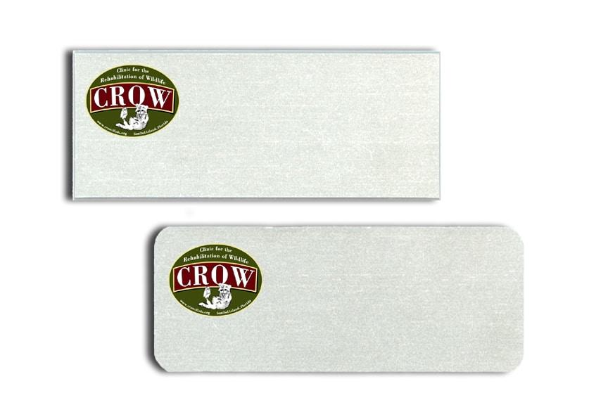 CROW name badges tags