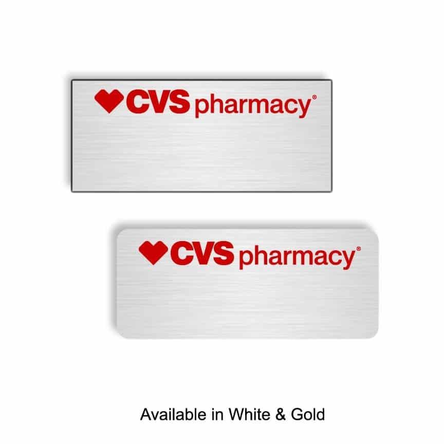 CVS Pharmacy name badges