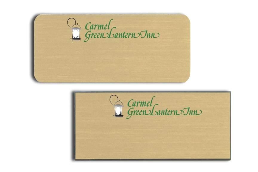 Carmel Green Lantern Inn Name Badges