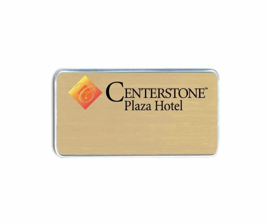 Centerstone Plaza Hotel Name Badges