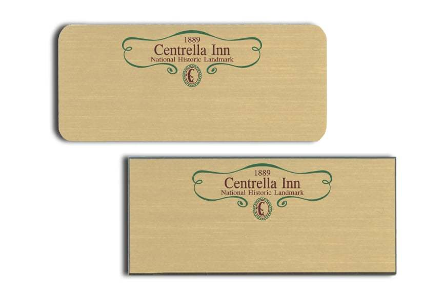 Centrella Inn Name Badges