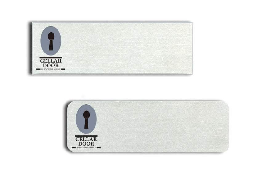 Cellar Door Name Tags Badges