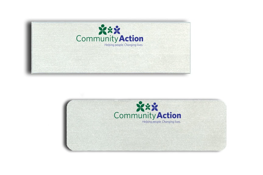 Community Action Name Badges