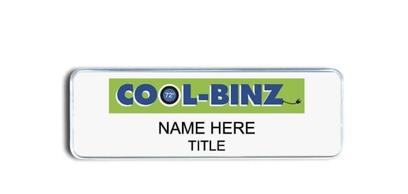 Cool Binz name badges