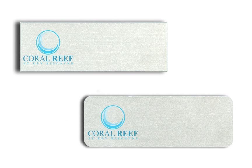 Coral Reef name badges