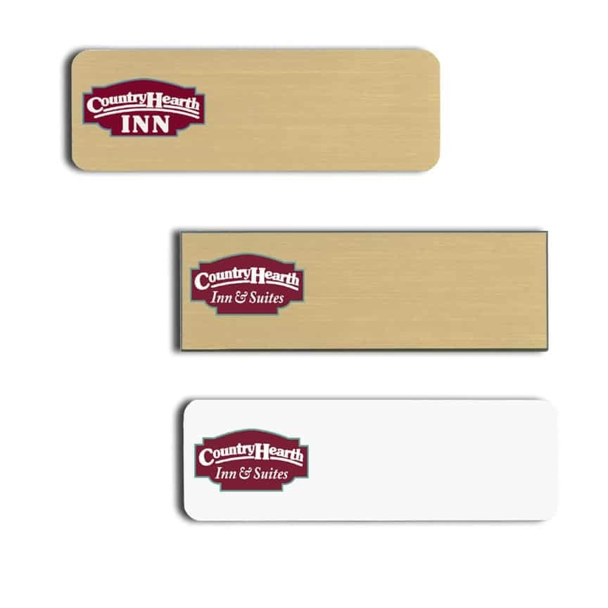 Country Hearth Inn and Suites Name Tags Badges