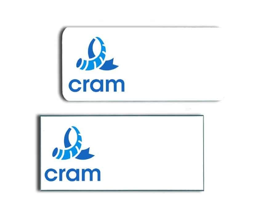 Cram Worldwide Name Badges