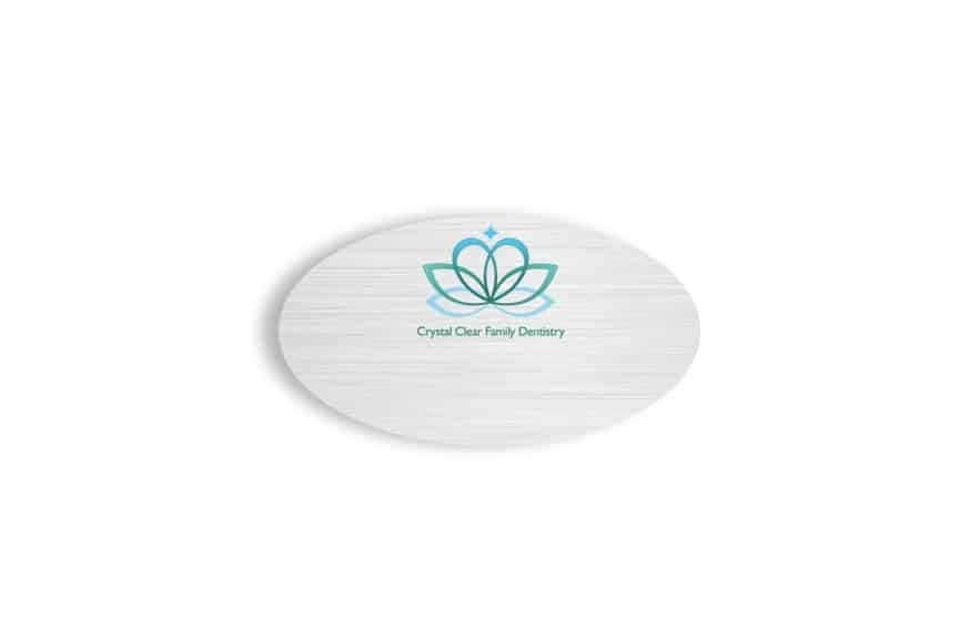 Crystal Clear Dentistry Name Badges