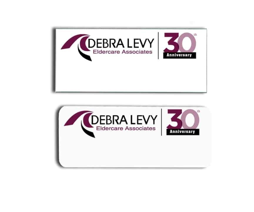Debra Levy eldercare name badges