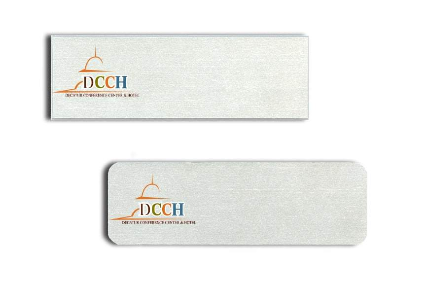 Decater Conference Center Hotel Name Tags Badges