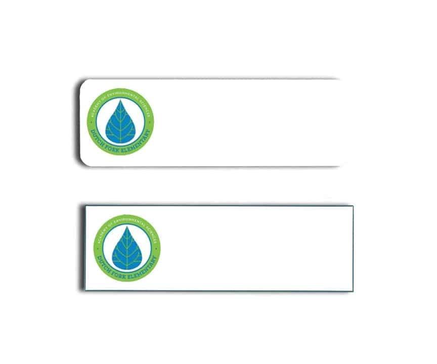 Dutch Fork Elementary name badges