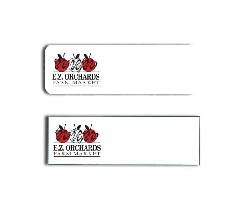 EZ Orchards Name Badges