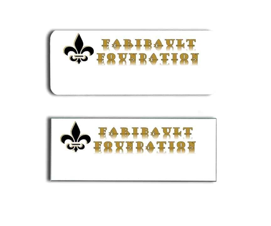 Faribault Foundation Name Tags