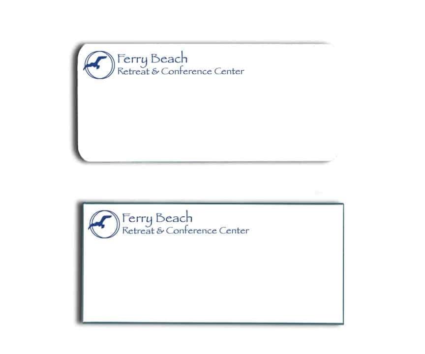 Ferry Beach Retreat Name Tags Badges