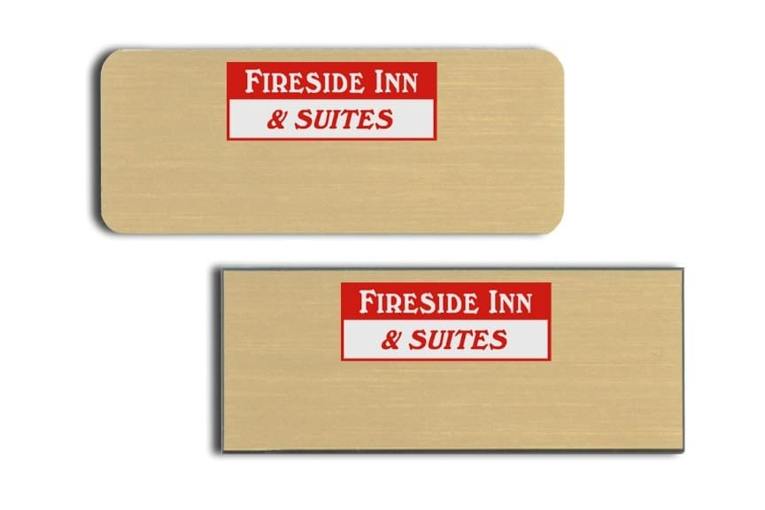Fireside Inn and Suites Name Tags Badges