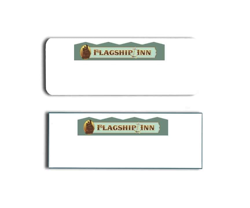 Flagship Inn Name Tags Badges