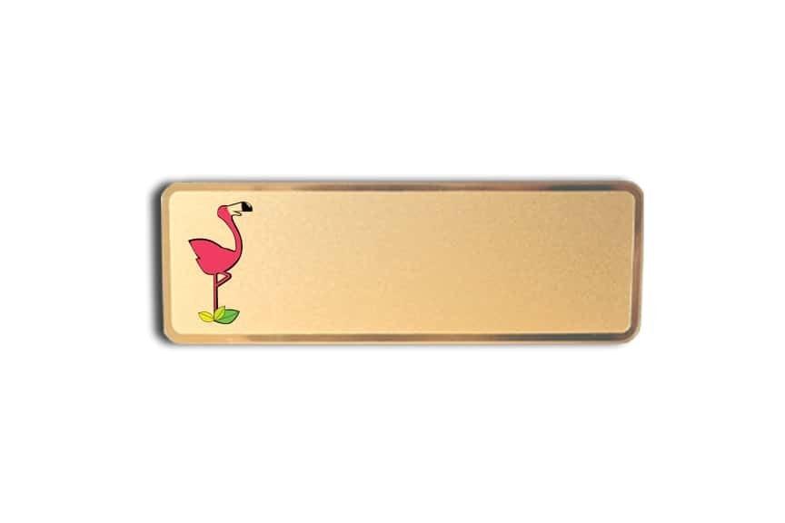 Flamingo Resort Name Badges