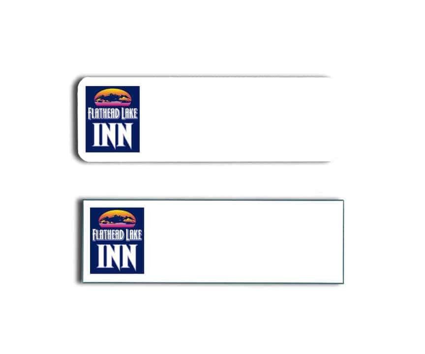 Flathead Lake Inn Name Tags Badges