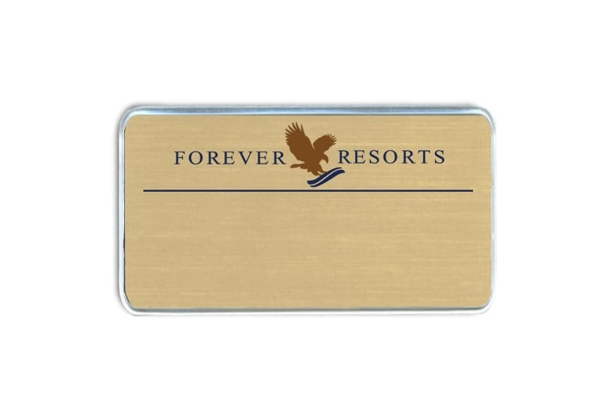 Forever Resorts Name Badges