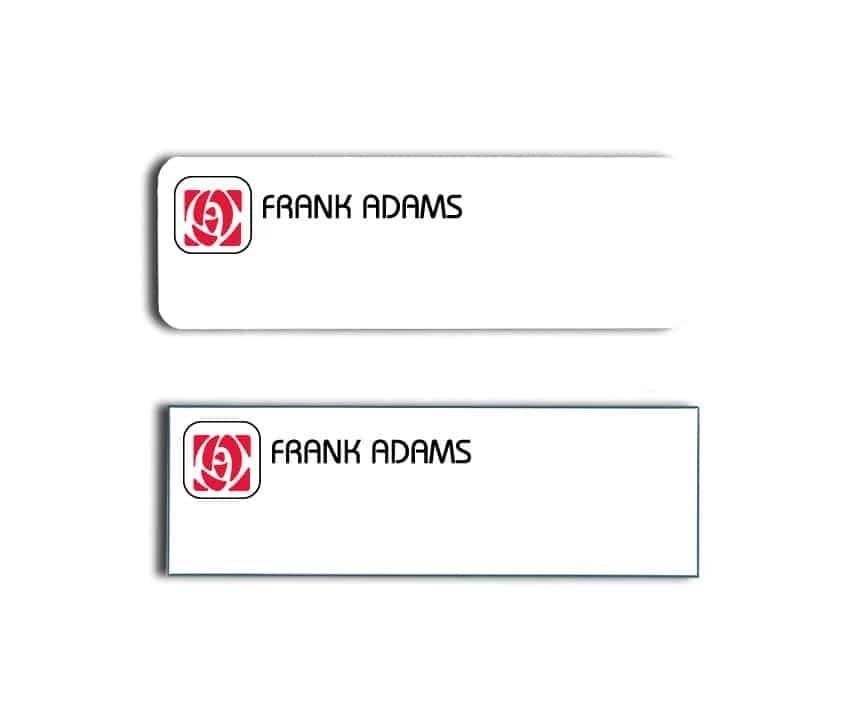 Frank Adams Name Tags Badges
