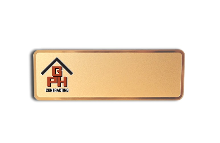 GPH Contracting name badges
