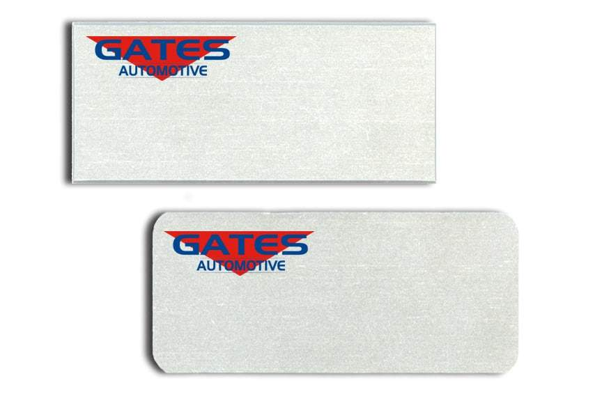 Gates Automotive Name Tags Badges