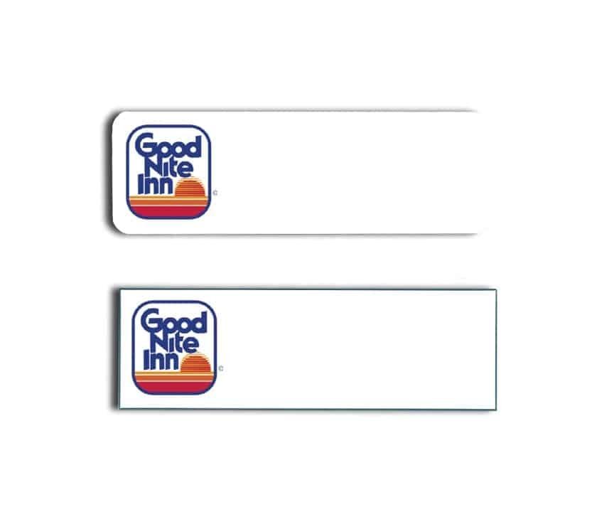 Good Nite Inn Name Tags Badges