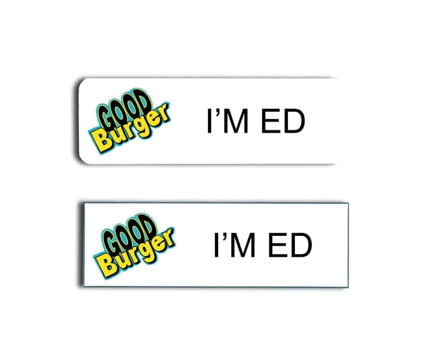 Good Burger Name Badges