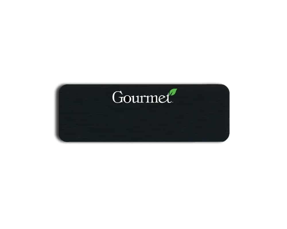 Gourmet name badges