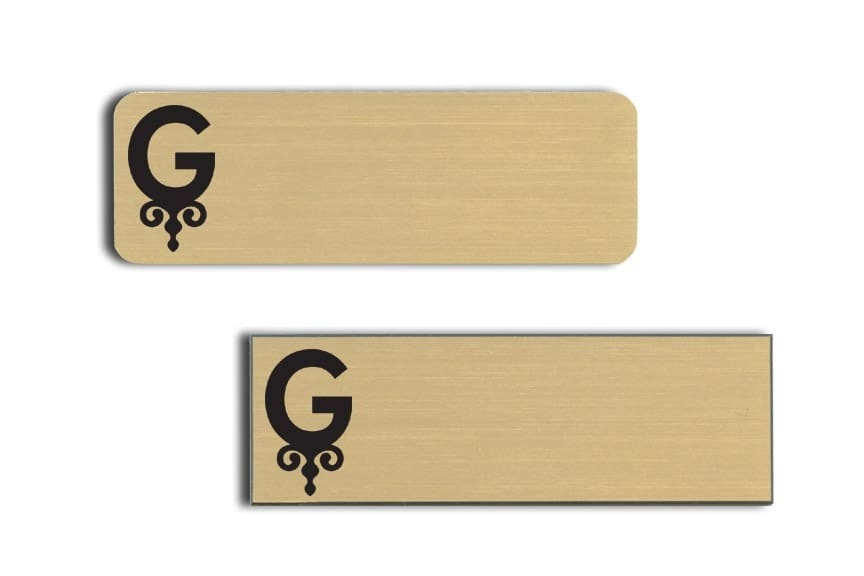 Grove Hotel Name Tags Badges