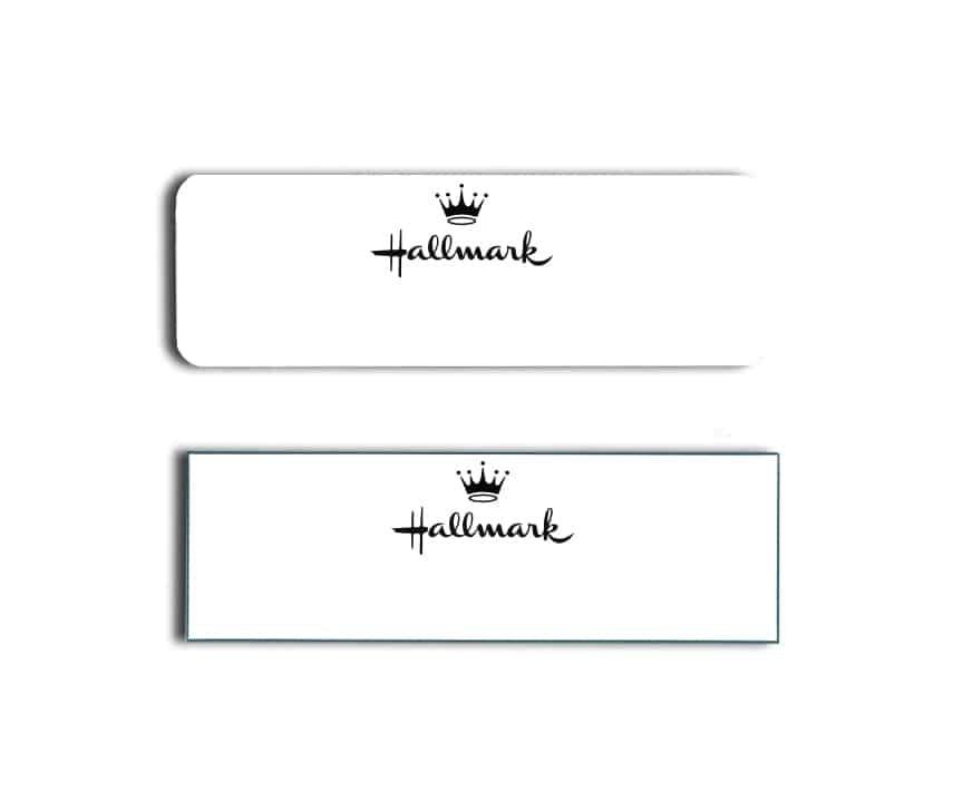 Hallmark Crown Name Badges