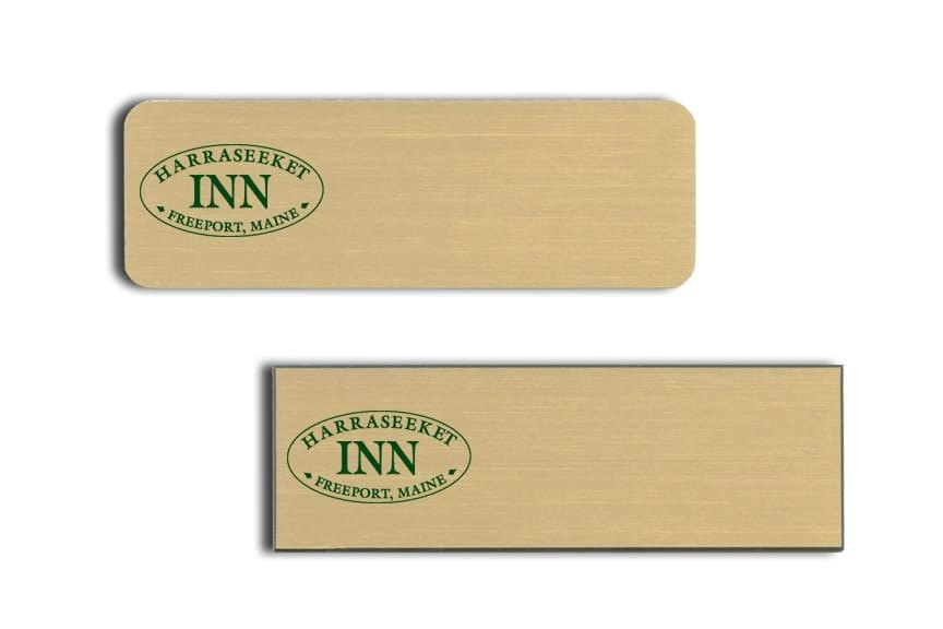 Harraseeket Inn Name Tags Badges