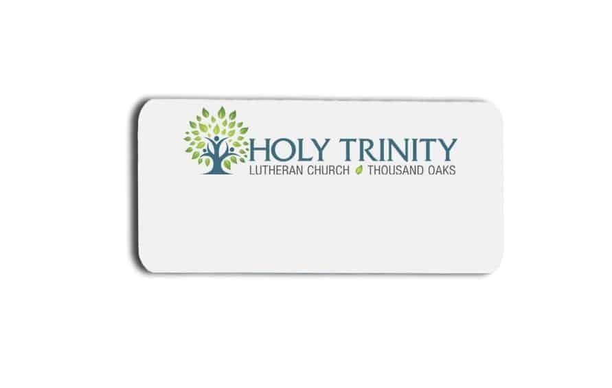 Holy Trinity name badges tags