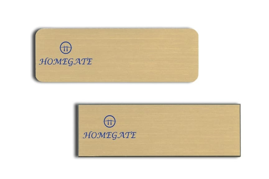 Homegate Name Tags Badges