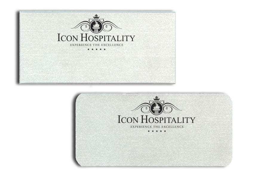 Icon Hospitality Name Badges