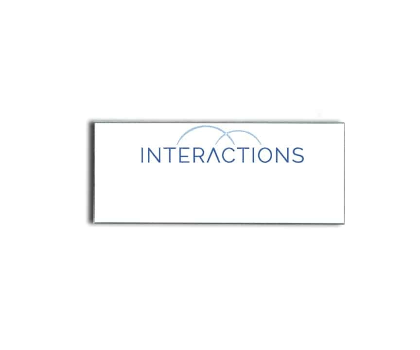 Interactions Name Badges