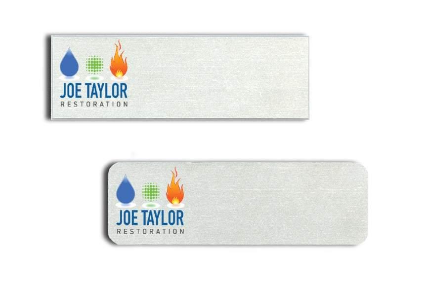 Joe Taylor Restoration Name Tags Badges