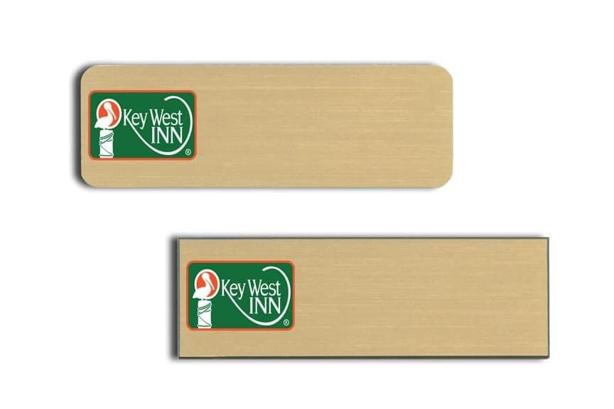 Key West Inn Name Tags Badges