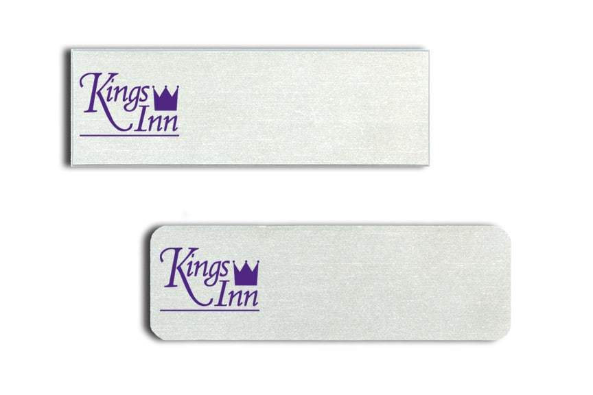 Kings Inn Name Tags Badges