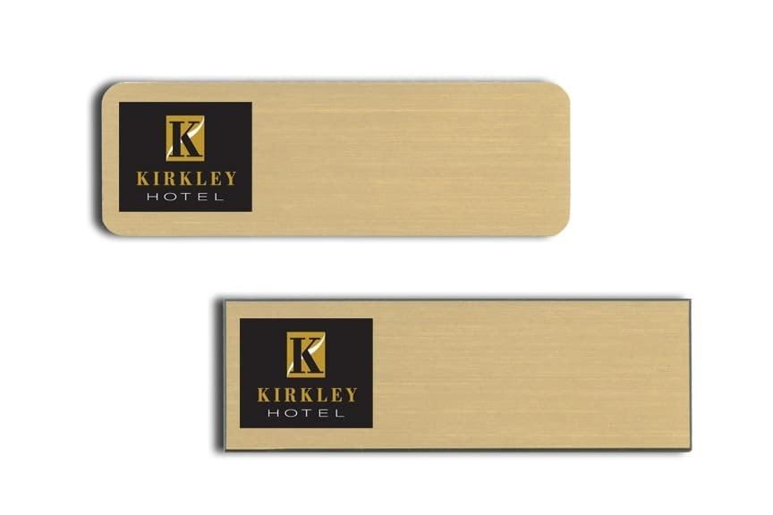 Kirkley Hotel Name Tags Badges
