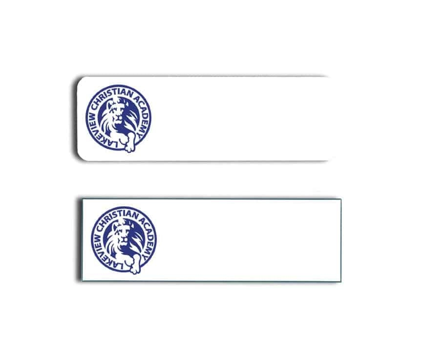Lakeview Christian Academy Name Tags Badges
