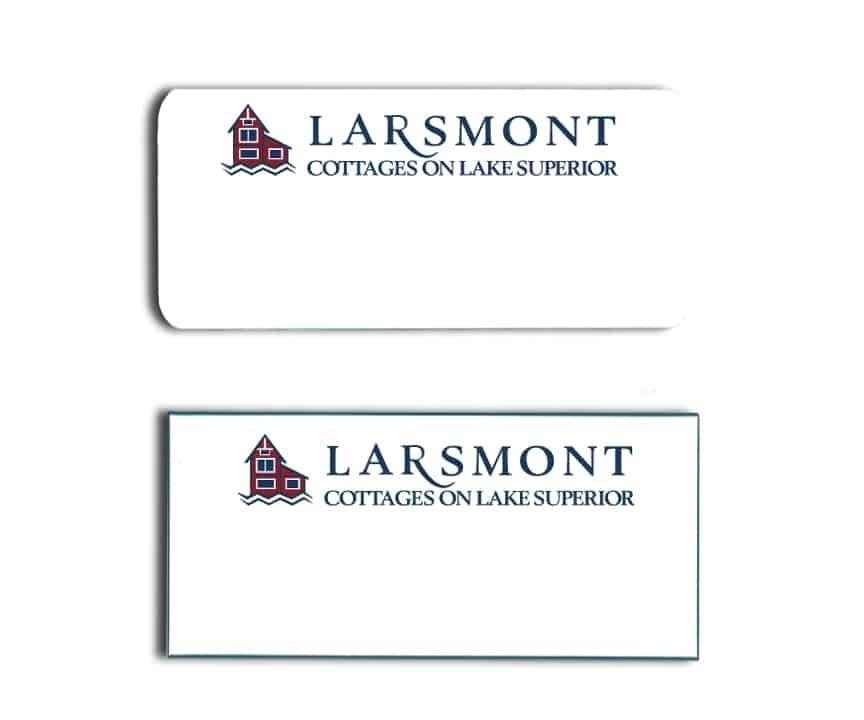 Larsmont Cottages Name Tags Badges