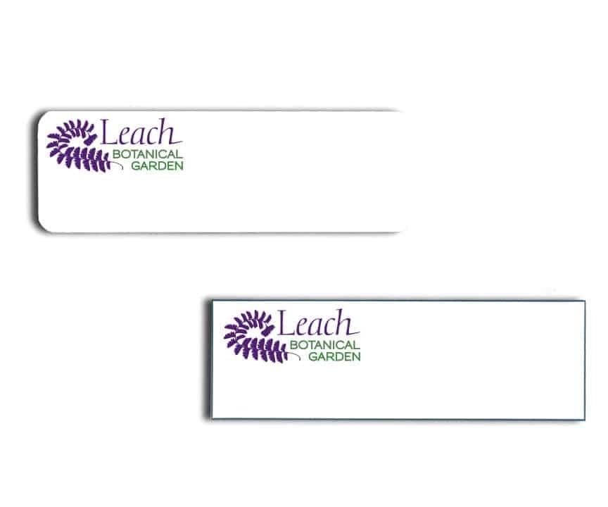 Leach Botanical name badges