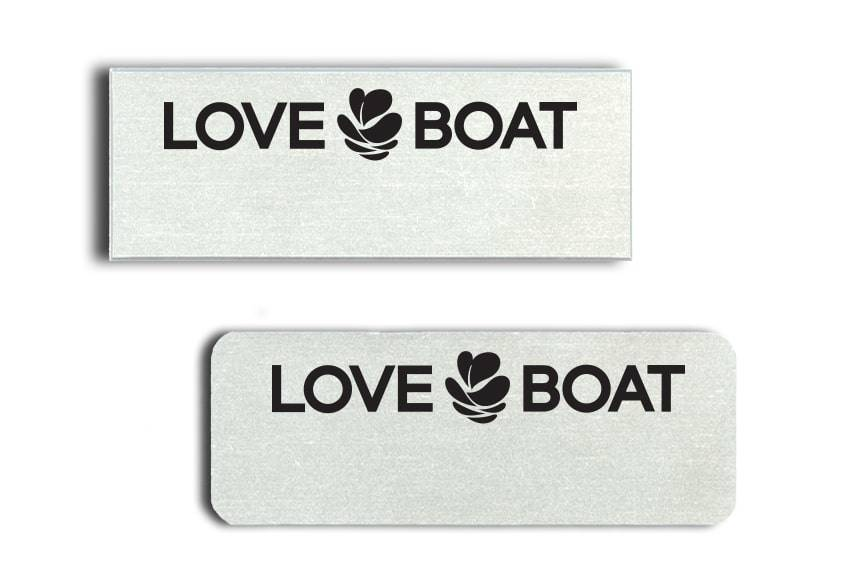 Love Boat Sushi Name Badges