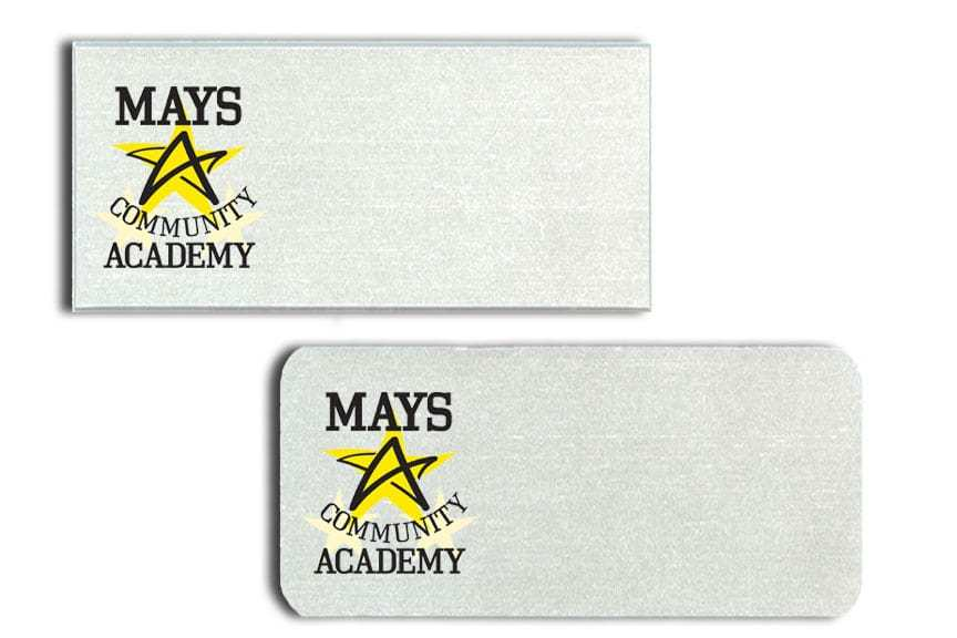 Mays Community Academy Name Badges