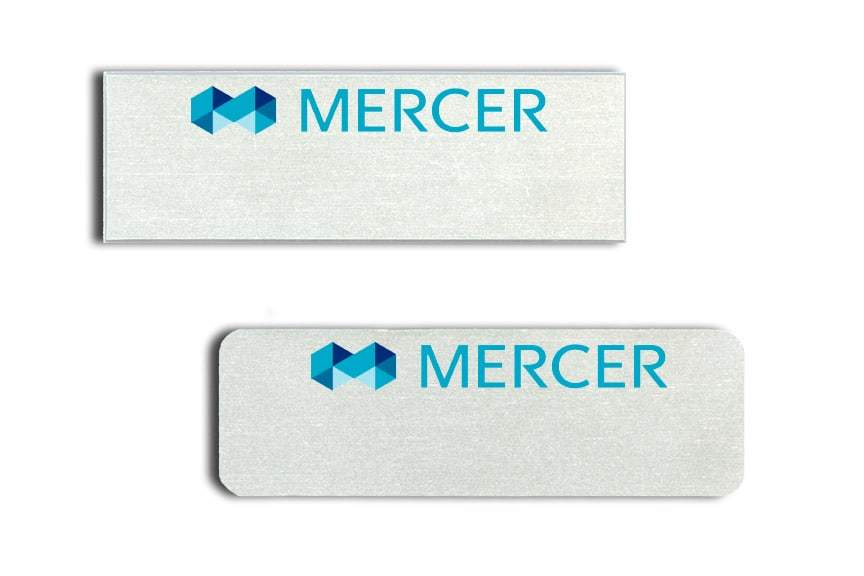 Mercer Name Tags Badges