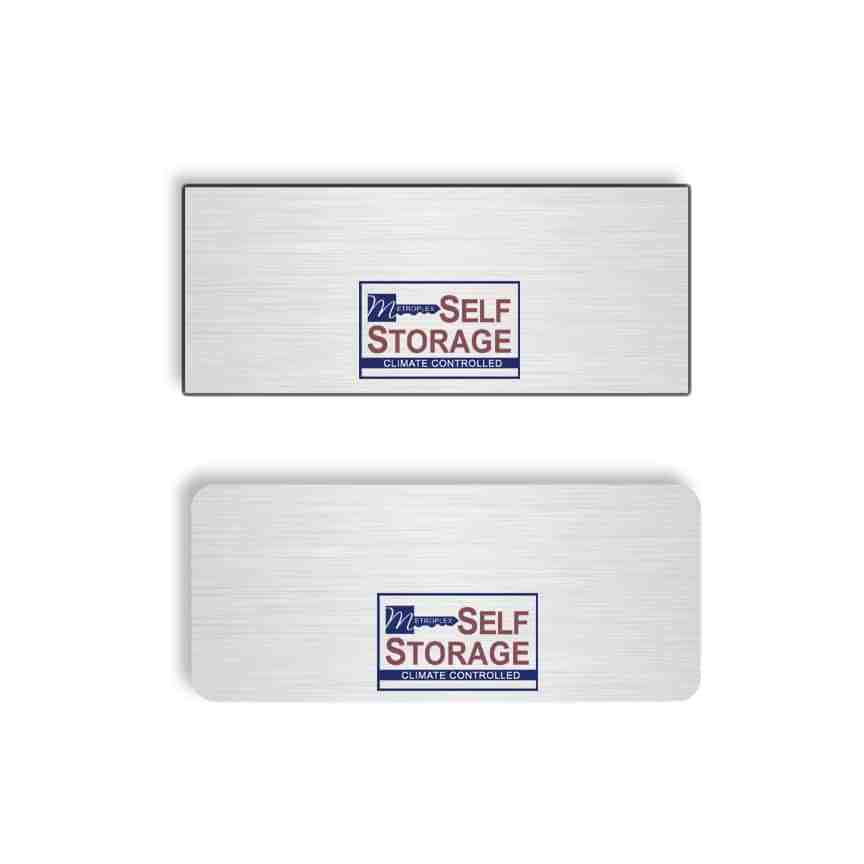 Metroplex Self Storage Name Badges