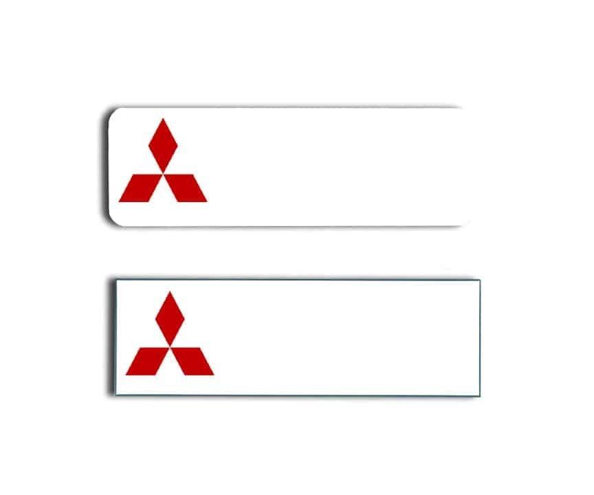 Gladstone Mitsubishi Name Tags Badges