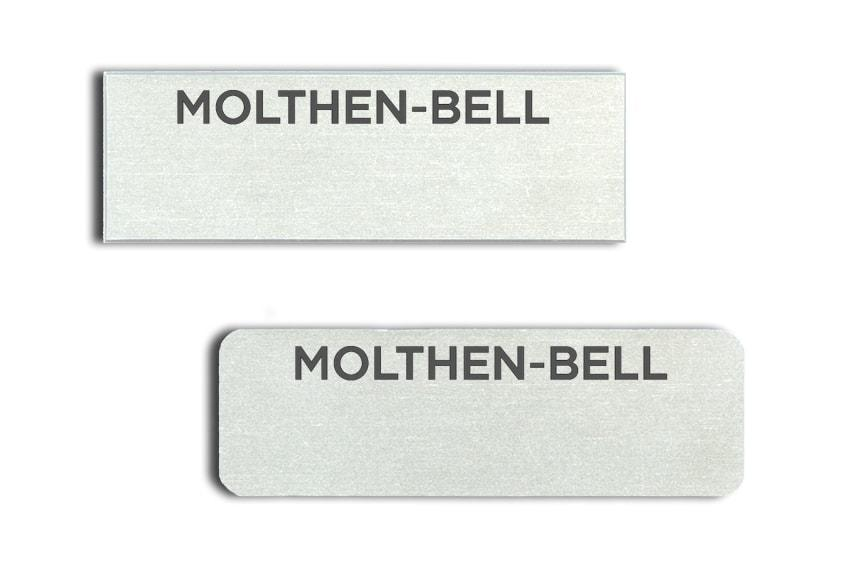 Molthen-Bell Name Tags Badges